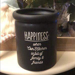 Happiness Utensil Crock